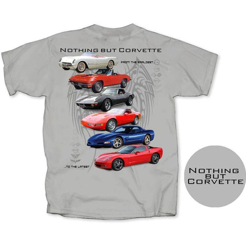 """Nothing But Corvette"" T-Shirt - Men's,Apparel"