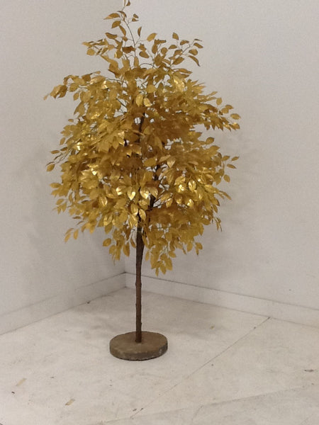 4' Gold Leaf Tree