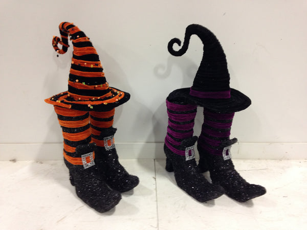 Witches Shoes & Hat