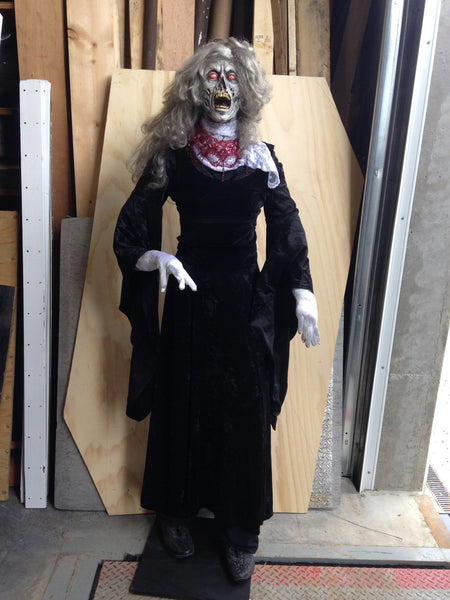 Scary Woman Halloween Figure