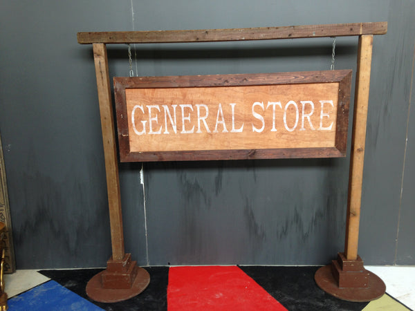 Western General Store Sign