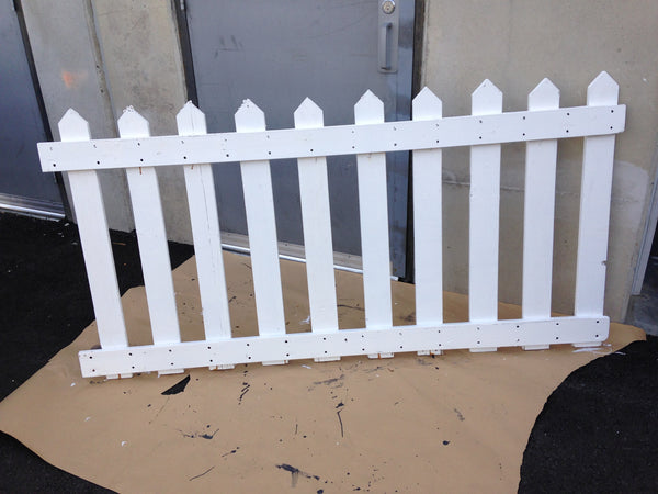 Picket Fence White 6 Ft Length