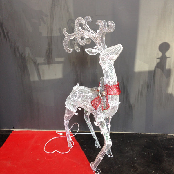 Reindeer 4Ft w/Lights
