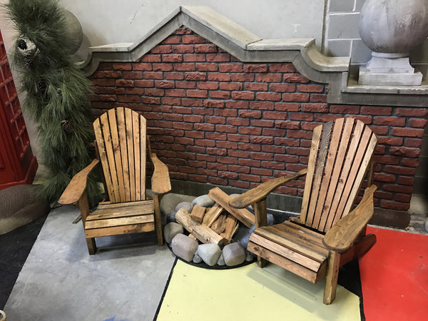Adirondack Chair Rustic Finish
