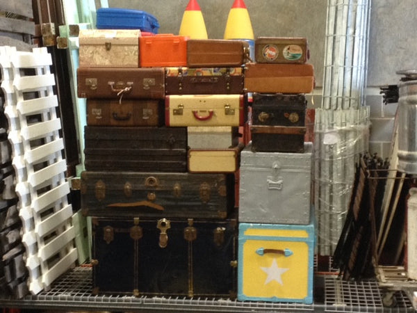 Vintage Luggage various sizes