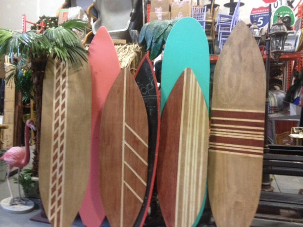 Surf Boards Various Heights