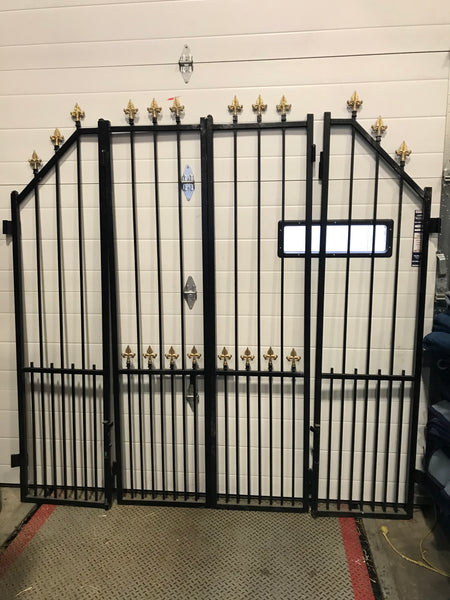 4 Pc Iron Fence