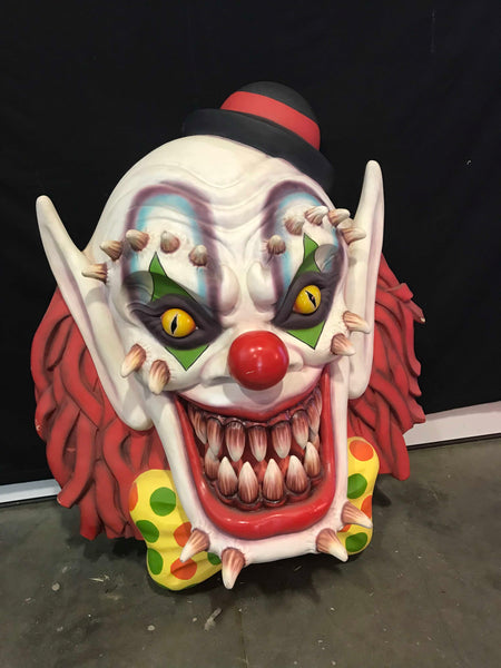 Scary Clown Face