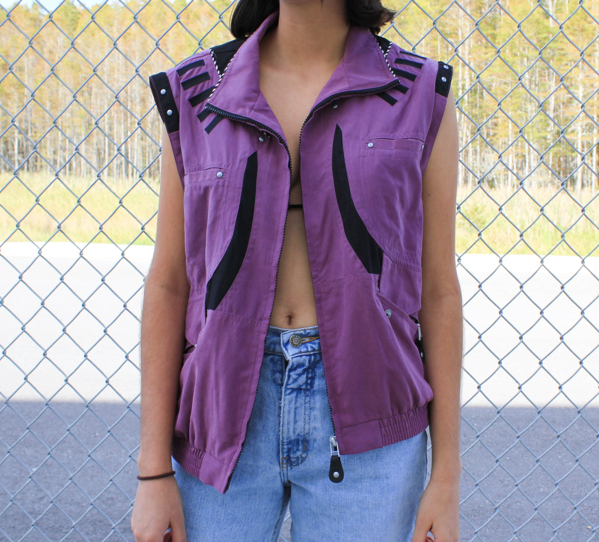 Purple Jacket/Vest