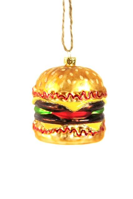 Cheesburger Ornament