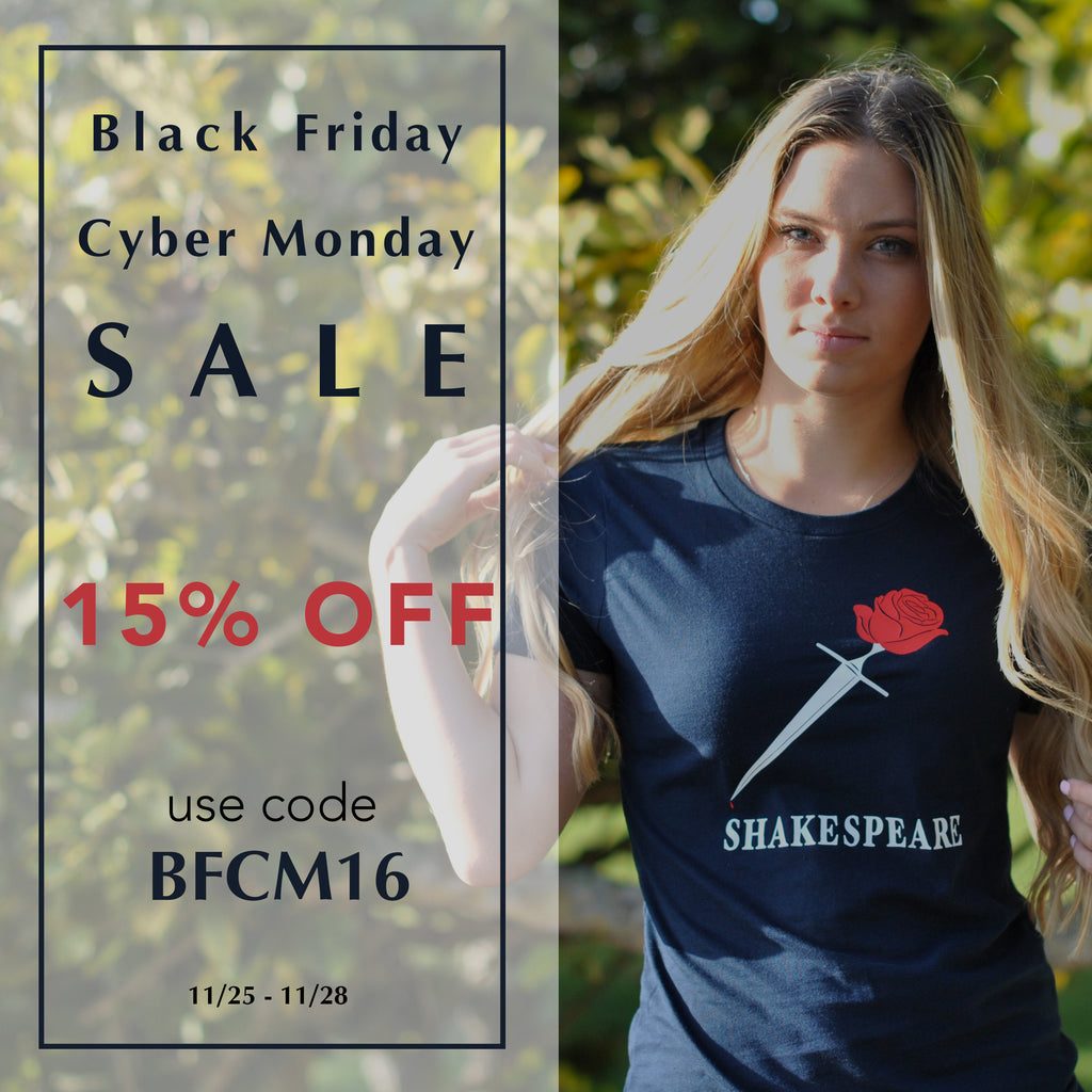 Black Friday Cyber Monday Sale! 15% Off