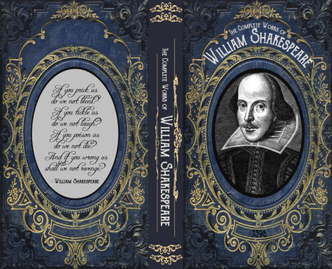 Shakespeare Book Phone Case by ChickLitDesigns