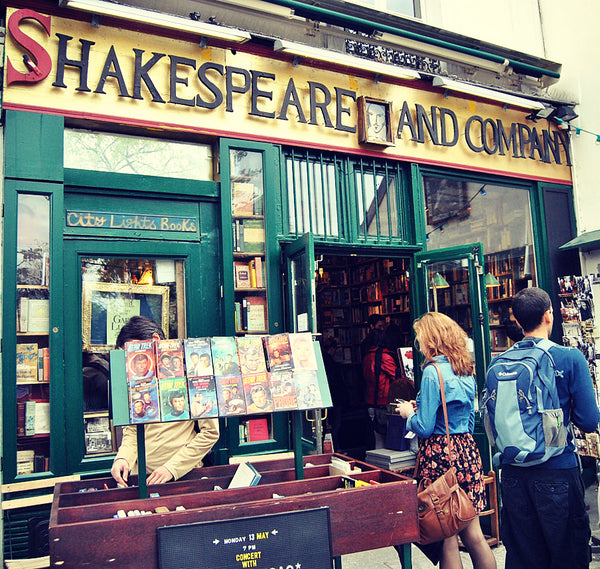 Shakespeare and Company Paris Bookstore