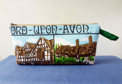Stratford Upon Avon Pencil Pouch by LeilaBadBlood