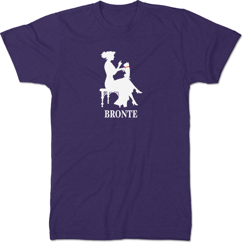 Anne Bronte: Agnes Grey Literary T-shirt Men