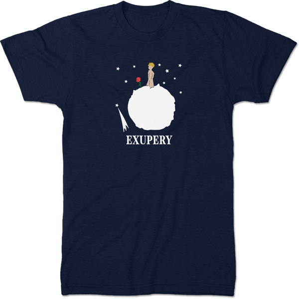 Antoine De Saint Exupery: Little Prince Literary T-shirt Men