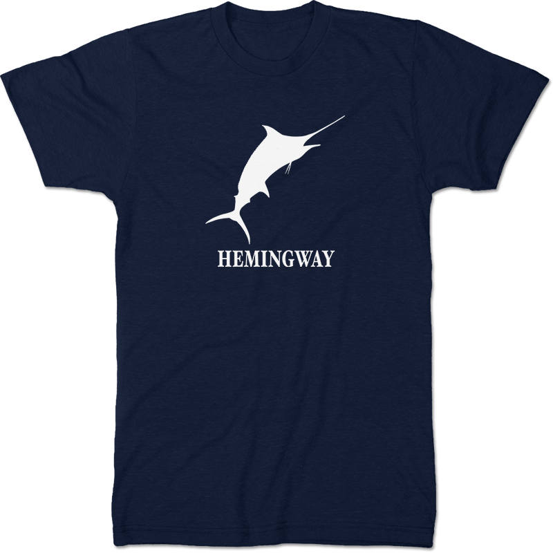 Ernest Hemingway: The Old Man And The Sea Literary T-shirt Men