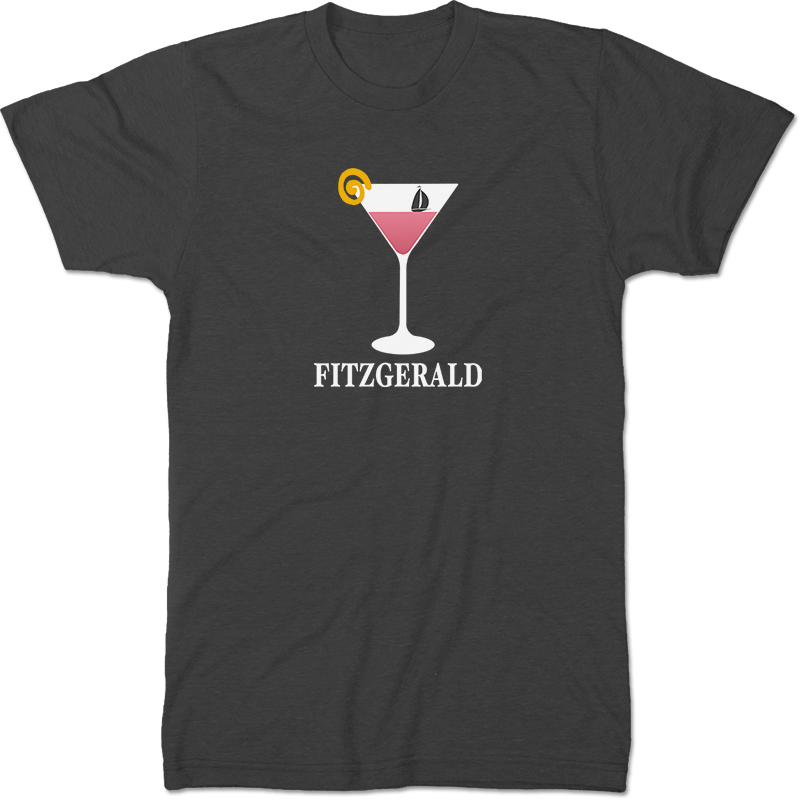 F Scott Fitzgerald: Tender Is The Night Literary T-shirt Men