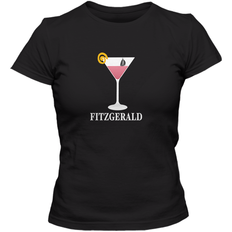 F Scott Fitzgerald: Tender Is The Night Literary T-shirt Women