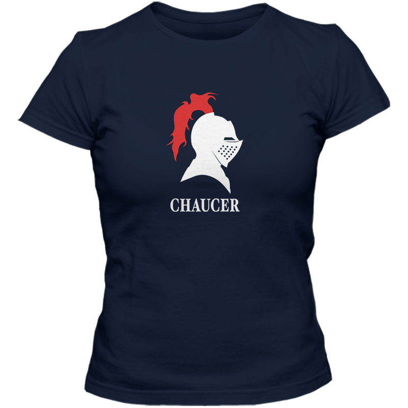 Geoffrey Chaucer: The Knight's Tale Literary T-shirt Women