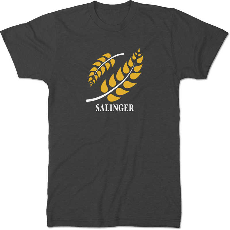 J D Salinger: The Catcher In The Rye Literary T-shirt Men