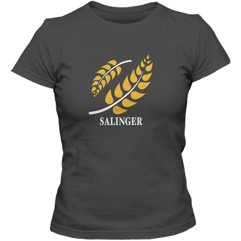 J D Salinger: The Catcher In The Rye Literary T-shirt Women