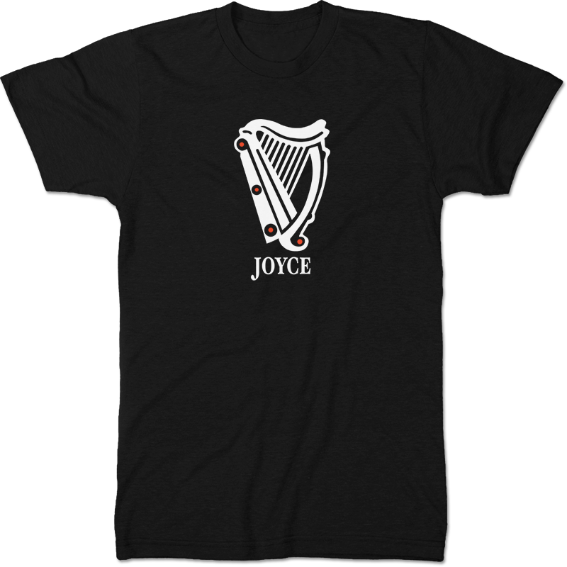 James Joyce: Ulysses Literary T-shirt Men