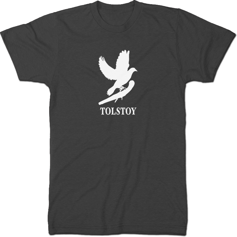 Leo Tolstoy: War And Peace Literary T-shirt Men