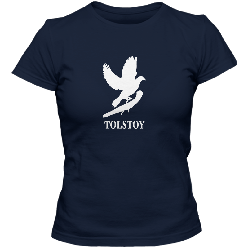 Leo Tolstoy: War And Peace Literary T-shirt Women