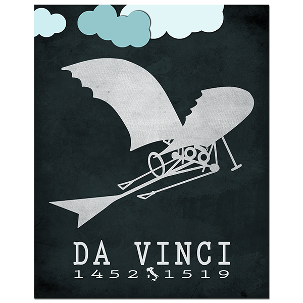 Leonardo Davinci: Codex On The Flight Of Birds