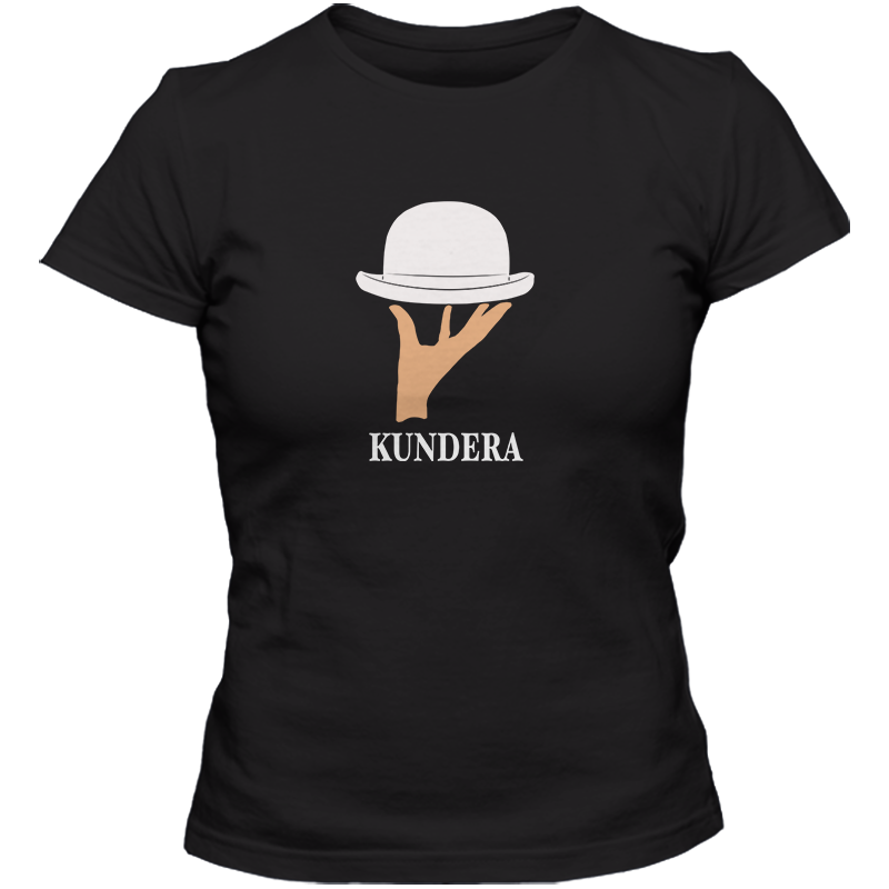 Milan Kundera: The Unbearable Lightness Of Being Literary T-shirt Women