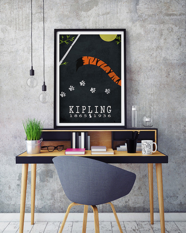 Rudyard Kipling The Jungle Book Literary Print