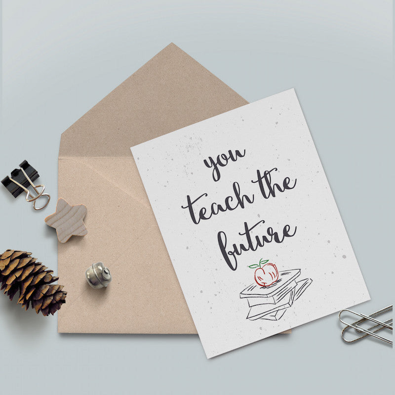 Teacher Gift Note Card
