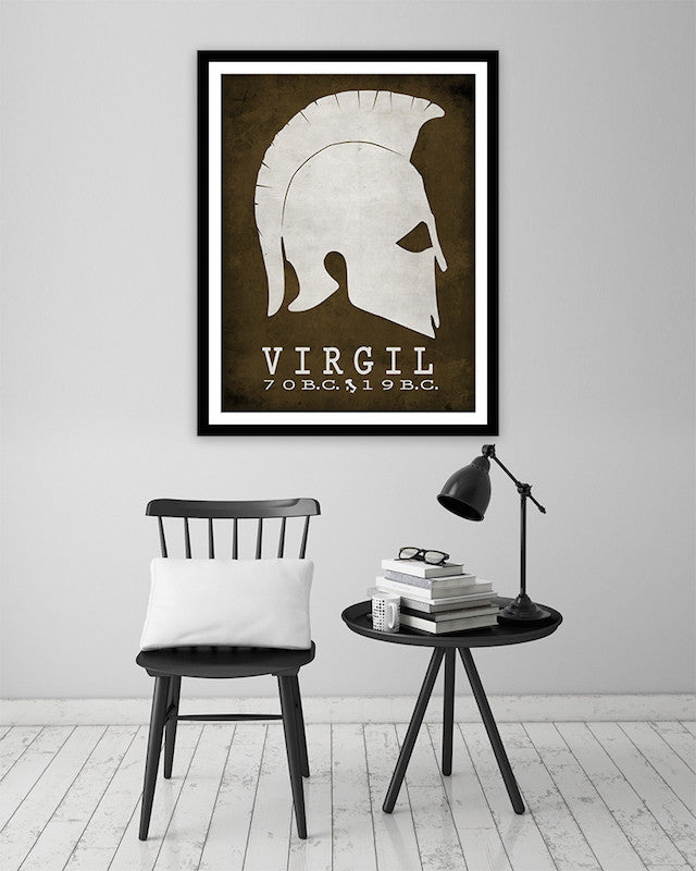 Virgil The Aeneid Literary Print