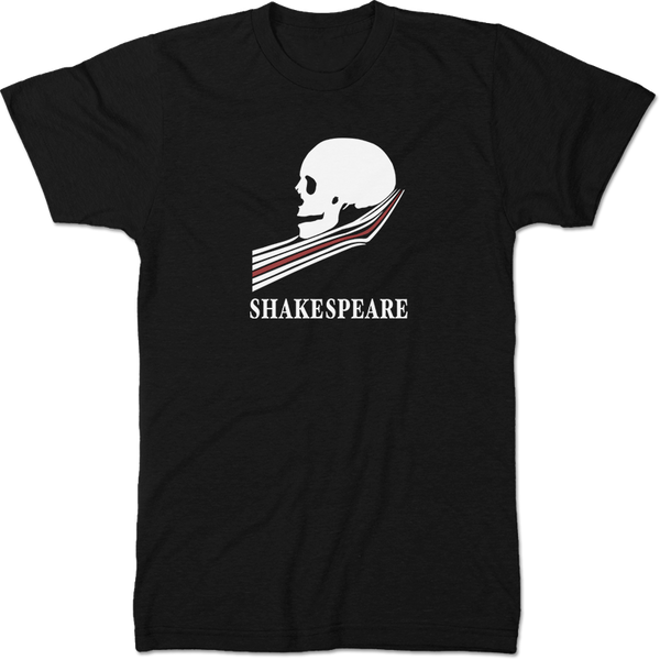 William Shakespeare: Hamlet Literary T-shirt Men