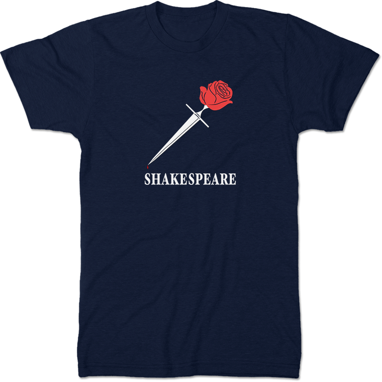 William Shakespeare: Romeo And Juliet Literary T-shirt Men