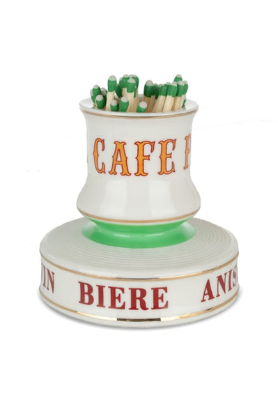 Café Paris French Match Strike