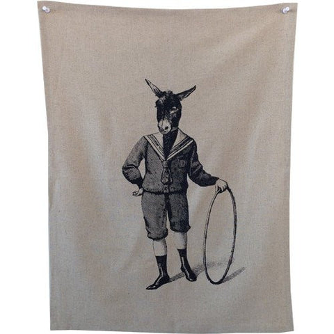 Donkey Boy Tea Towel