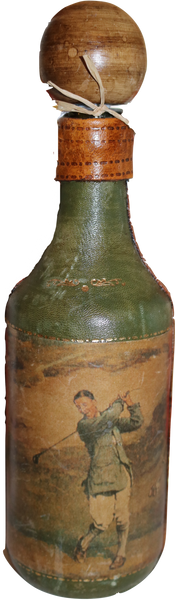 Green Bottle with Stopper