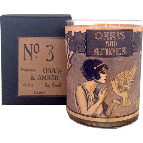 Orris & Amber Candle (No. 3)