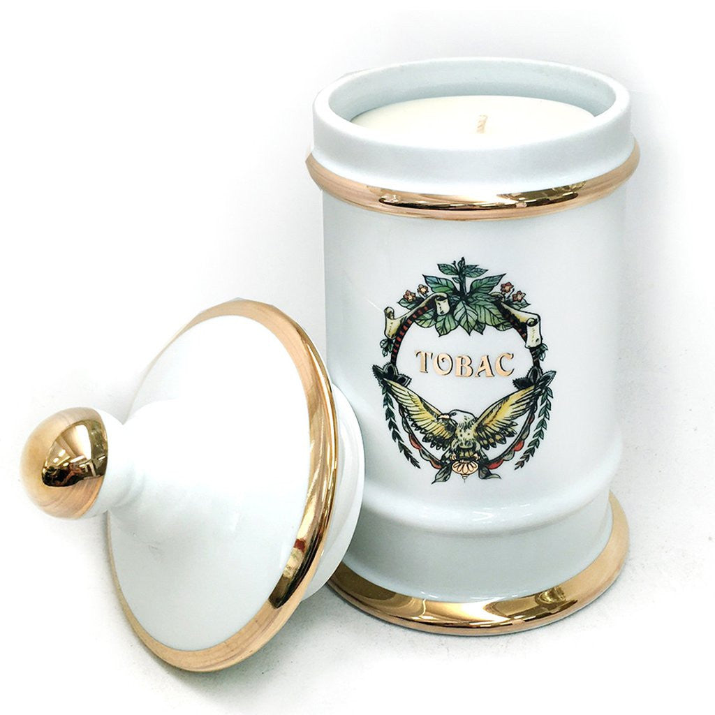 Apothecary Jar Tobac Candle