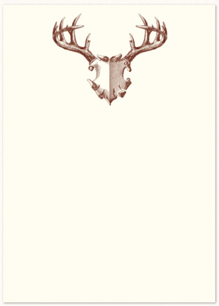 Antler Mount Notecards
