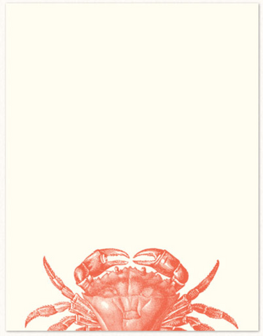 Big Crab Notecards
