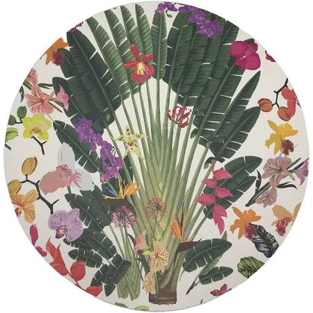 Tropical White Placemat
