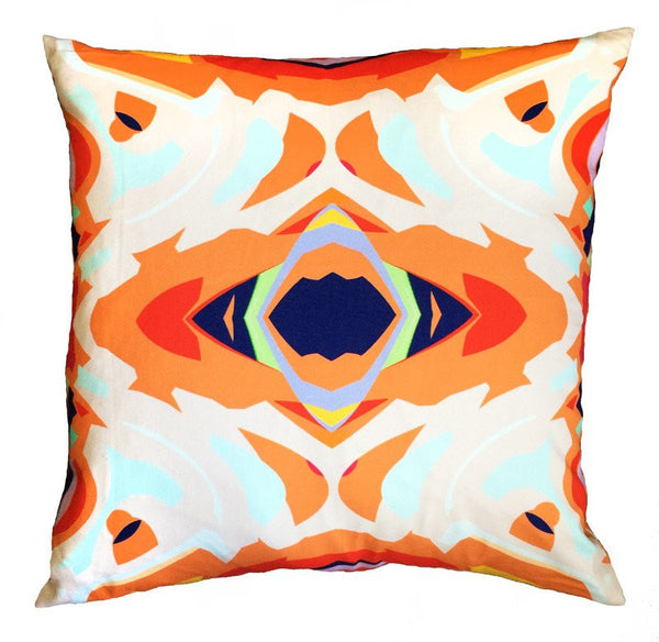 Abstract Mirror Pillow