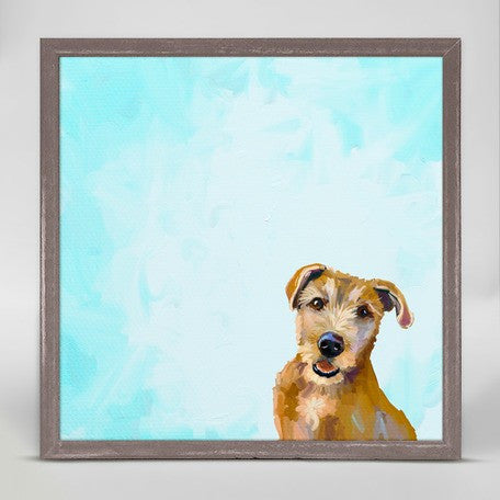 Brown Dog Framed Print