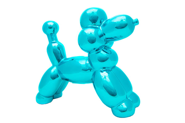 Blue Poodle Balloon Bank
