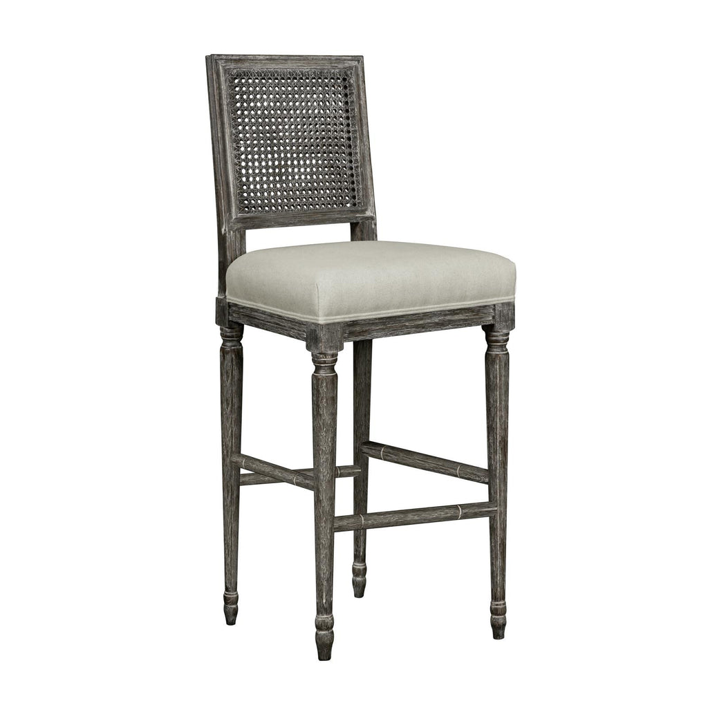 Cane Back Bar Stool