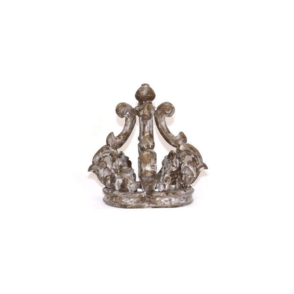 Carved Crown with Cross