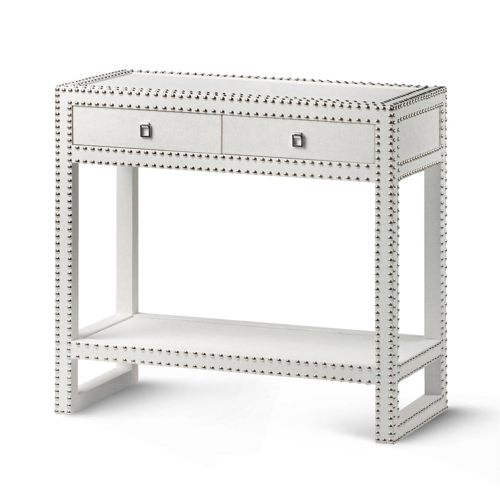Nailhead Console Table